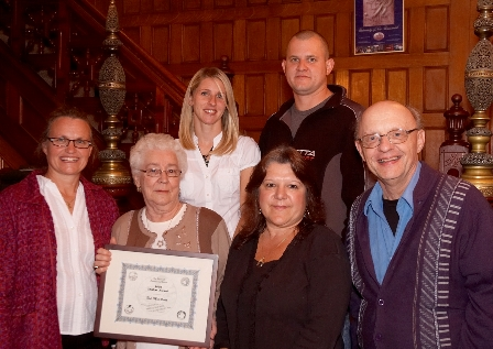 Rod MacAleese 2009 award