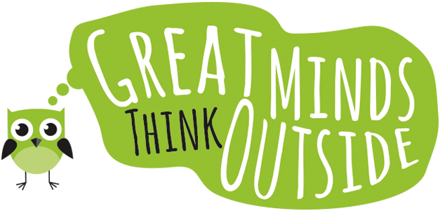 great minds think outside logo